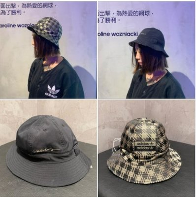 FOCA Adidas originals R.Y.V. 漁夫帽 雙面 黑色 千鳥紋 gd4462 愛迪達