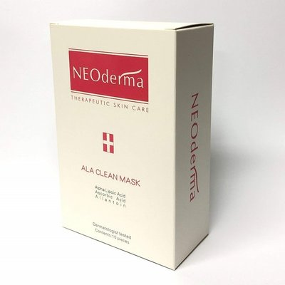 NEO皮膚專科保養品牌「NEOderma 硫辛酸透亮淨化面膜」毛孔,角質,出油,等各種問題肌膚調理用面膜