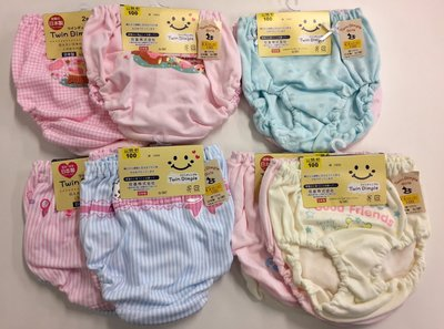 現貨 日本製 Twin Dimple girls 100% 純棉女童 內褲 小褲 100CM( 2枚/組)