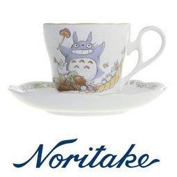 東京家族 日本進口 noritake 宮崎駿 龍貓 TOTORO 一杯一盤 陶瓷杯 咖啡杯
