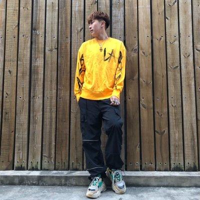 【inSAne】Korea Select / LA手寫染墨 / 塗鴉大學TEE 紅 & 橘色