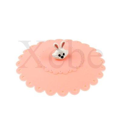 小白兔造型杯蓋 - 創意杯蓋 造型杯蓋 客製化禮贈品 創意禮物