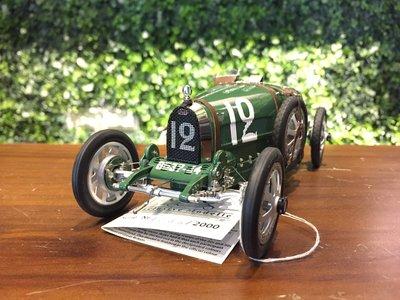 1/18 CMC Bugatti T35, 1924 England M100 (B002)【MGM】