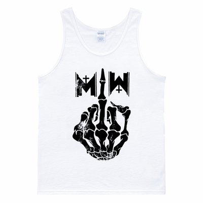 Motionless In White Middle Finger 七分袖T恤 2色 西海岸滑板街頭刺青金屬龐克搖滾