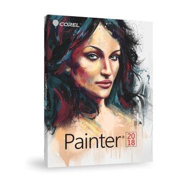 【全新含稅】COREL Painter 2018 ML 中文 商用 完整版 盒裝 (Mac/Win 平版/Android