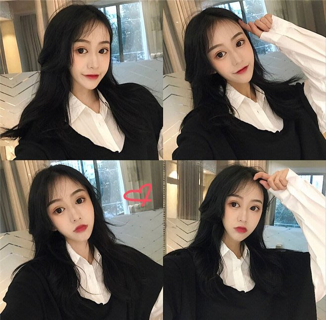 FINDSENSE G6 韓國時尚潮流 春裝拼接BF風寬鬆字母撞色拼接格子襯衫衛衣女假兩件式長袖襯衫外套