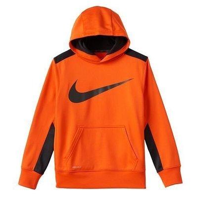 Nike 男童長袖帽T 尺寸 4歲 96-104cm  DRI-FIT