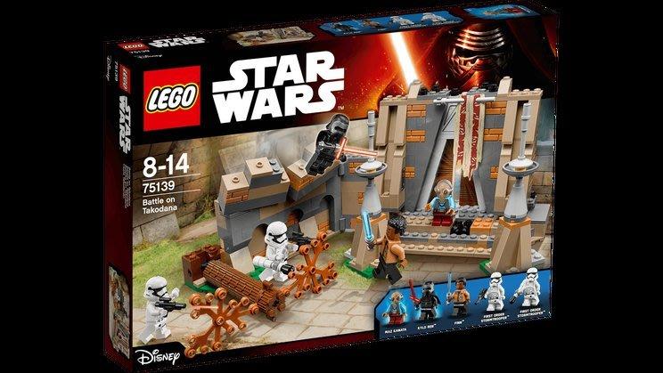 樂高 LEGO 75139 星際大戰系列   塔克達納激鬥