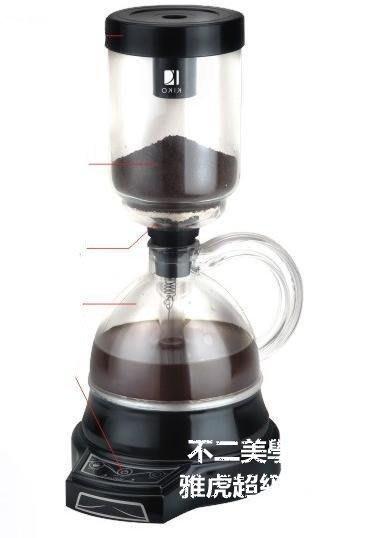 【格倫雅】^  KIKO全自動咖啡機意式商用磨豆煮咖啡家用電虹吸式咖啡19999[g-l-y