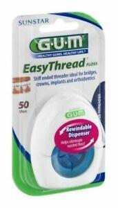 【熱銷現貨】 GUM 超級牙線 3合1牙線 穿引式膨脹牙線 矯正 牙橋 植牙 牙周