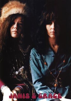 進口海報 W-02  - Janis Joplin and Grace Slick 1969 (60x90cm)