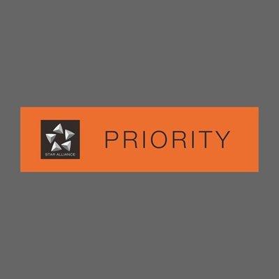 星空聯盟 STAR Alliance Priority 優先通關 高級會員 橘 航空公司 防水貼紙