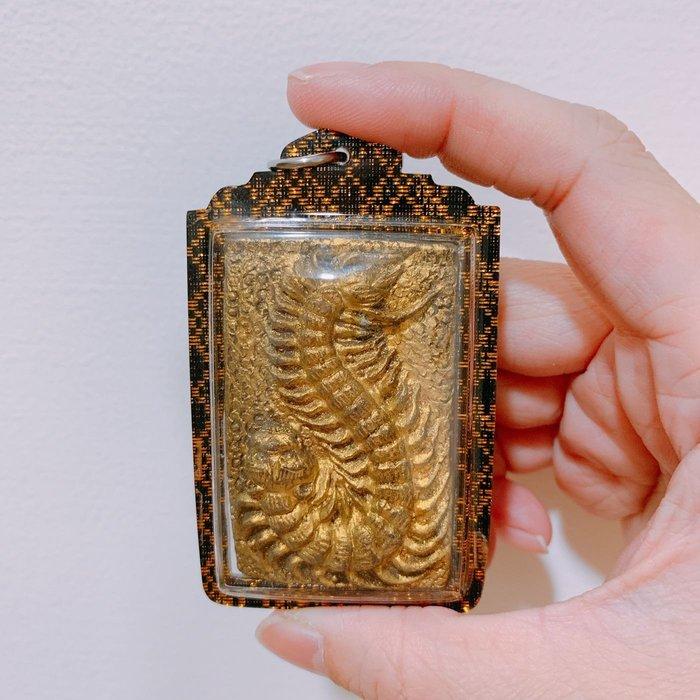 泰極致 真品佛牌保證 阿贊濕 二期 黃金虎頭蜈蚣