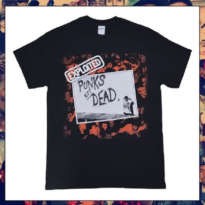 【三分之二】THE EXPLOITED Punks Not Dead  //復古潮流/Band/Tee