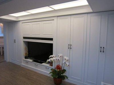 巴洛克  美式鄉村風  幸福空間 室內設計 裝修 系統傢俱 系統櫃 工廠直營 系統廚櫃、衣櫃
