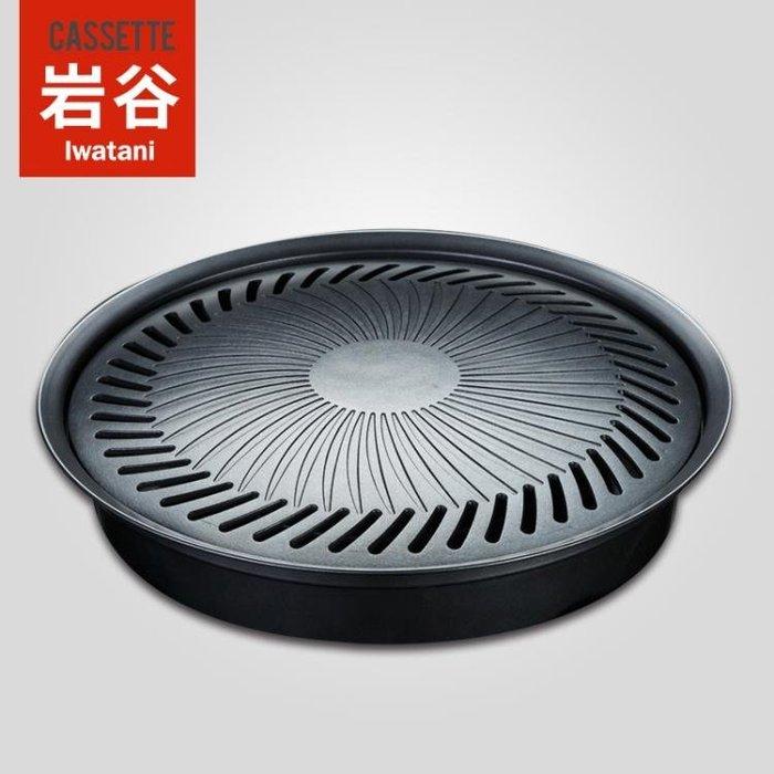 戶外家庭烤肉盤卡式爐無煙不粘烤盤 韓國烤肉盤燒烤盤