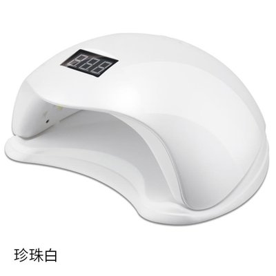 售完即止-美甲光療機48W速幹美甲燈烘干機器感應光療led燈甲油膠指甲烤燈11-6(庫存清出T)