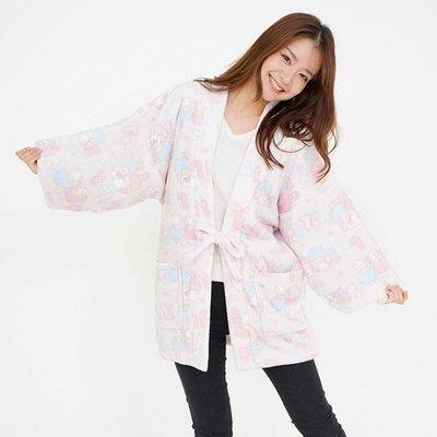 預購 Co媽日本精品代購 日本 正版 Kiki Lala睡衣 居家服 軟綿綿 家居服 長袖睡袍 雙星奇緣