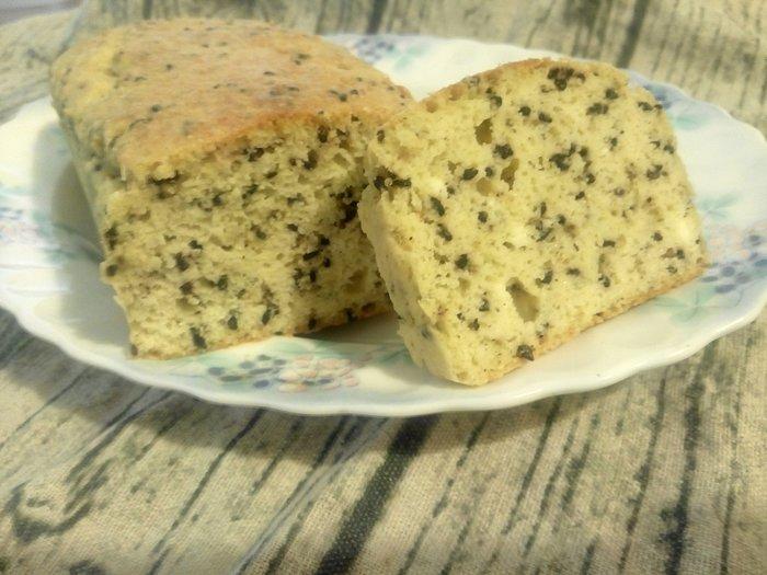 無糖/低醣/低碳/無麵粉/生酮 芝麻乳香吐司蛋糕