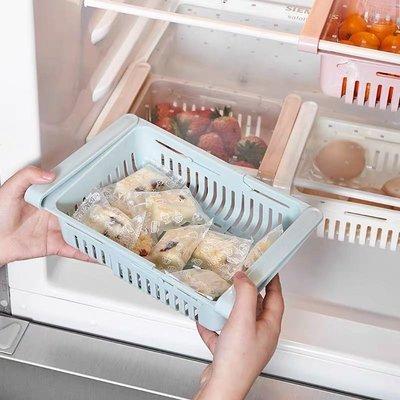 廚房雪櫃可伸縮收納盒/小櫃桶(Fringe Drawer)