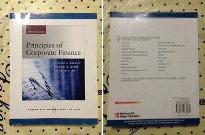 公司金融原理 Principles of Corporate Finance   Richard A著