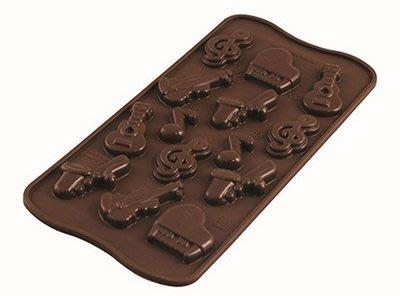 ☆║IRIS Zakka║☆ 義大利 silikomart easy choco 音樂 巧克力型模具 新北市