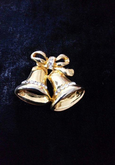 全新 聖誕節禮物  胸針   別針 鈴鐺的樣式  購買價:189 元