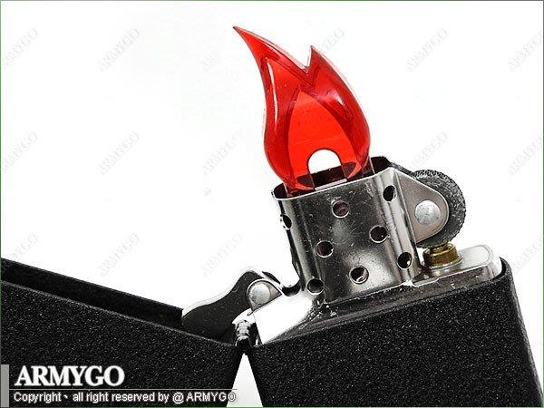 【ARMYGO】ZIPPO 原廠展示用塑膠火燄 (五入裝)