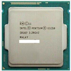 電腦雜貨店→雙核心intel G3250 3.2GHz LGA 1150 拆機良品 $950 請自取