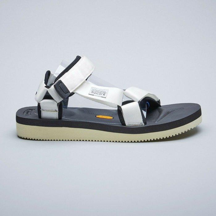 KS▸SUICOKE DEPA-V2 022 VIBRAM 白色 涼鞋 黃金大底【SK19022V2WH】