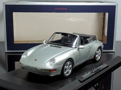 【MASH】現貨瘋狂價 Norev 1/18 Porsche 911 (993) Carrera 敞篷(頂篷可換)
