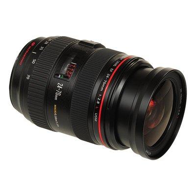 镜头Canon/佳能EF 24-70mm F2.8L USM f/4二手單反全幅標準變焦鏡頭单反镜头
