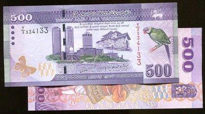 SRI LANKA(斯里蘭卡紙幣),P126a,500-RP,2010,品相全新UNC