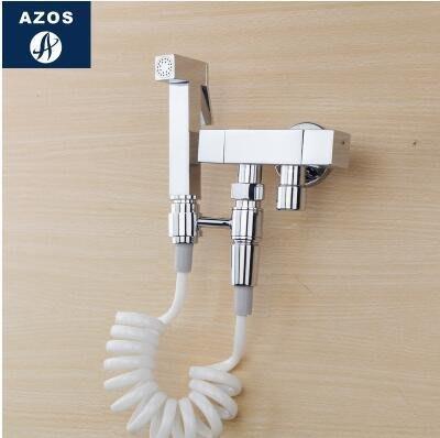 【優上】德國 增壓手持花灑婦洗器淋浴噴頭 馬桶閥水龍頭「D套裝」