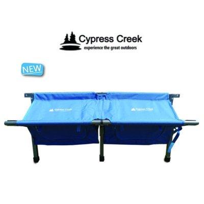 【露營趣】Cypress Creek 賽普勒斯 CC-LC200 鋁合金情人椅(附收納袋) 對對椅 雙人椅