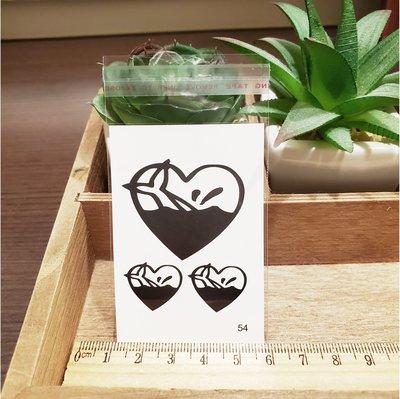 【萌古屋】百態人生54單圖 - 男女防水紋身貼紙刺青貼紙 K43