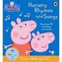 *小貝比的家*PEPPA PIG:NURSERY RHYMES AND SONGS /平裝+CD