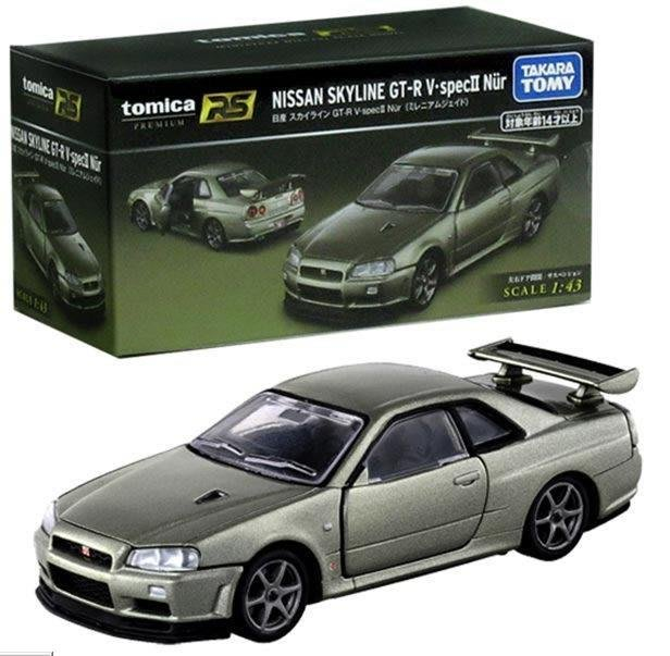 《TOMICA 多美小汽車》PRM RS日產GT-R V.specⅡ Nur