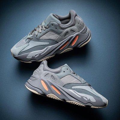 運動鞋 Adidas Yeezy Boost 700 V2 Inertia 慣性 灰橘 麂皮 EG7597