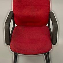 台中二手家具 大里宏品二手家具館 F112626*紅色洽談椅* 二手各式桌椅 中古辦公家具買賣 會議桌椅 辦公桌椅