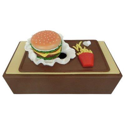 (I LOVE樂多)少見商品-漢堡薯條衛生紙盒moai 摩艾實用 裝置藝術 送人自用兩相宜 麥當勞的概念