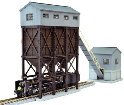 (現貨不用等)TOMYTEC 1/150 情景小物 103 給炭蒸汽火車設備組