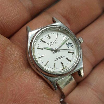 鐵力士 TELUX 女錶 清晰 漂亮 非 SEIKO ck FOSSIL S7 Rolex OMEGA ORIENT 機械錶 LV GUCCI MK IWC