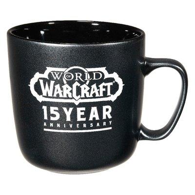 【丹】暴雪商城_World of Warcraft 15th Anniversary 魔獸世界 15周年 紀念 馬克杯