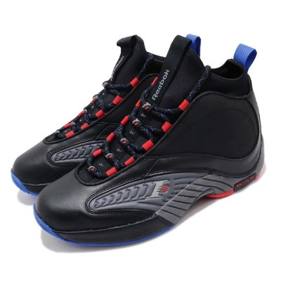 =CodE= REEBOK ANSWER IV.V 皮革籃球鞋(黑灰) CN5841 IVERSON AI 4.5 戰神