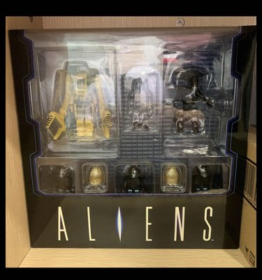 Kubrick aliens power loader 異形 蛋 alien warrior