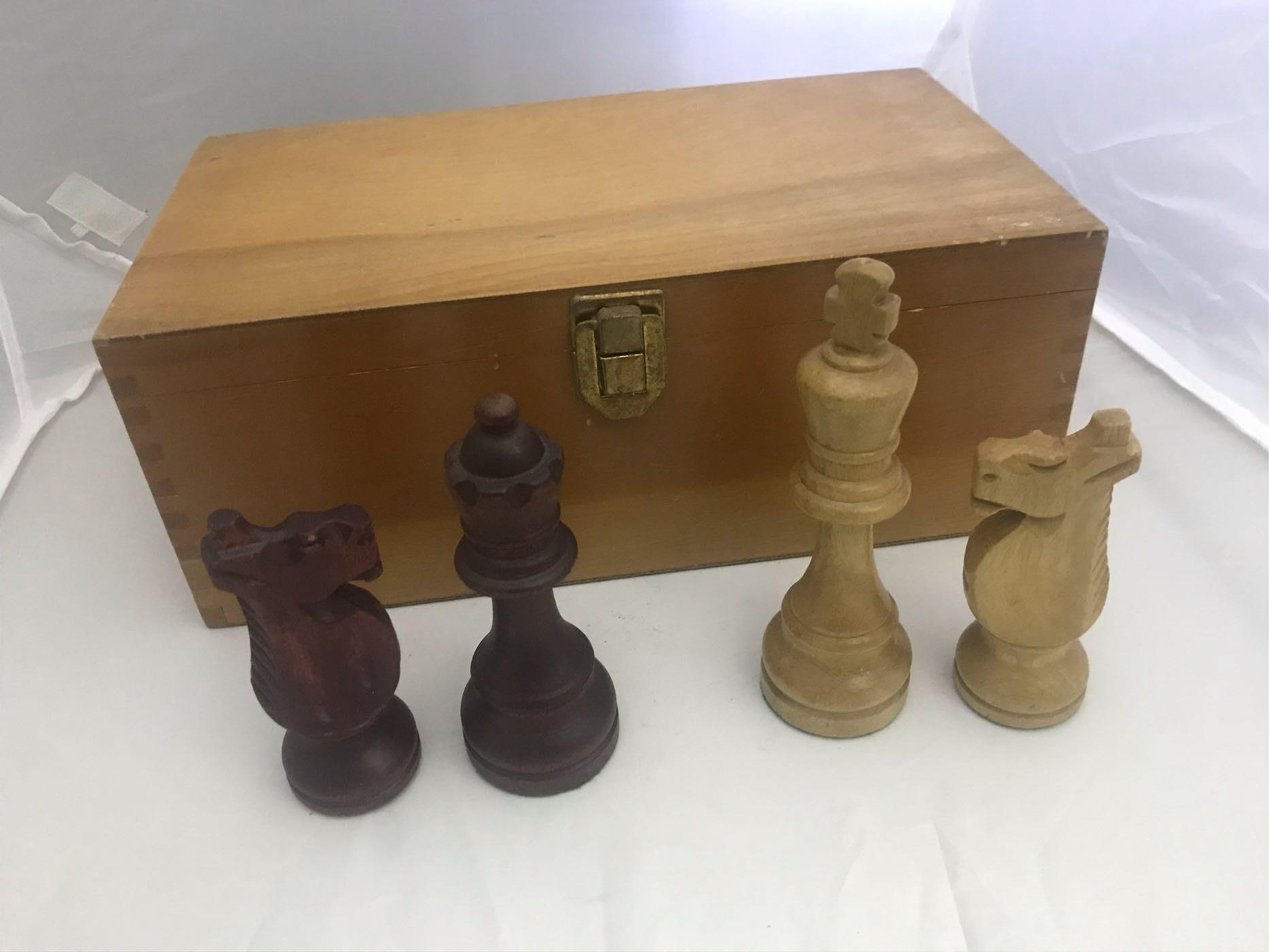 手工藝術品 木製西洋棋 絕版釋出