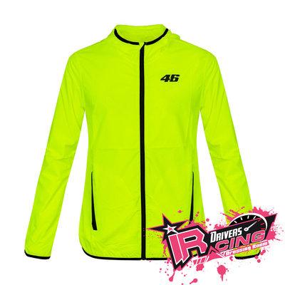 ♚賽車手的試衣間♚ VR46 Rossi CORE RAINCOAT YELLOW FLUO 擋風 防水 外套 夾克