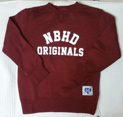 NEIGHBORHOOD ONE THIRD Sweatshirt (New)