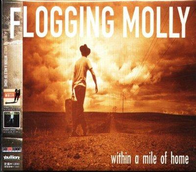 八八 - Flogging Molly - Within A Mile Of Home  - 日版 CD OBI